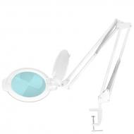 Лампа-лупа LED с креплением на стол