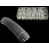 Pikad läbipaistvad tipid 100 tk karbis