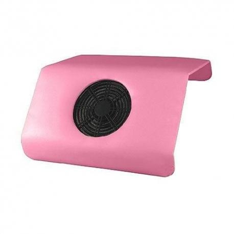 Настольный пылесос для маникюра розовый