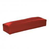 Маникюрная подушка глянцевый красный