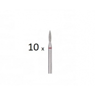 10 pcs Diamond bit red Ø 1,4mm 243