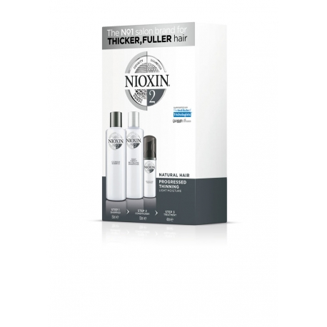 Nioxin Система 2 Комплект 150 ml x 150 ml x 40 ml