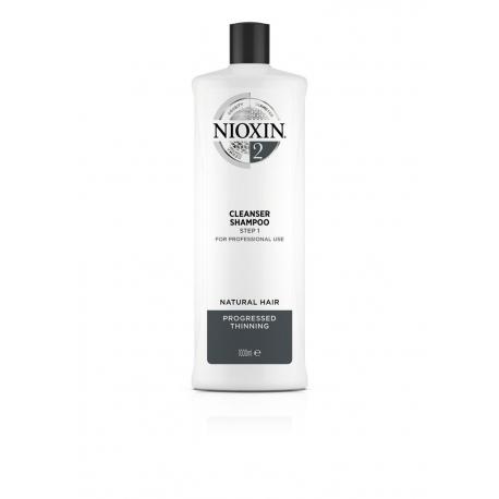 Puhastav šampoon 1000 мл Nioxin süsteem 2