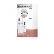 Nioxin Süsteem 3 Komplekt 150 ml x 150 ml x 50 ml