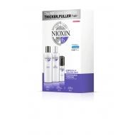 Nioxin Süsteem 6 Komplekt 150 ml x 150 ml x 40 ml