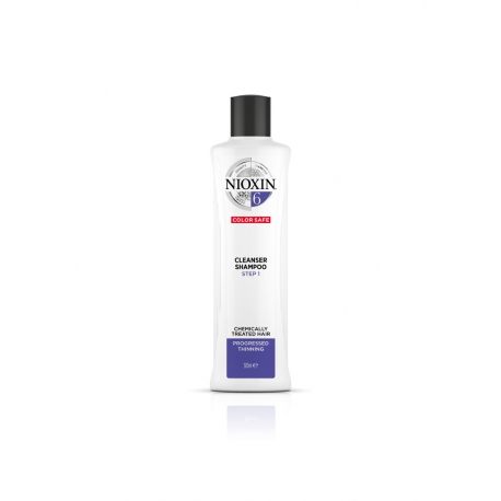 Puhastav šampoon 300 мл Nioxin süsteem 6