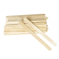 МИНИ деревянные шпателя 100 шт 1 cm x 13,4 cm