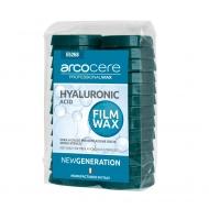 Горячий воск удаляется без бумаги 1000 ml Hyaluronic Acid FILM WAX Arco Italy