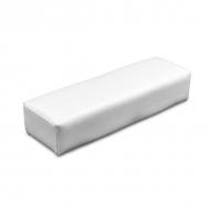 Маникюрная подушка из кожзаменителя White
