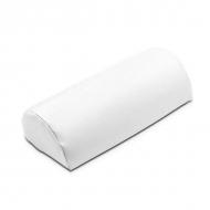Маникюрная подушка из кожзаменителя Белая