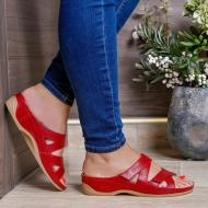 Ortopeedilised jalatsid naistele punased