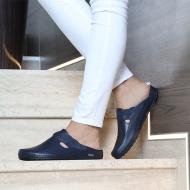 Ortopeedilised jalatsid naistele tumesinised GEL+Memory Foam