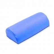 Маникюрная подушка из кожзаменителя голубая