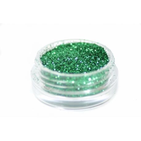 Glitterpulber green