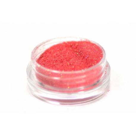 Glitterpulber soft red