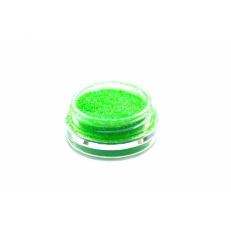 Glitterpulber neon green