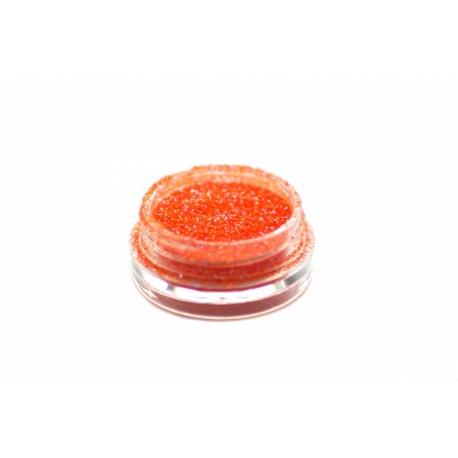 Glitterpulber neon orange