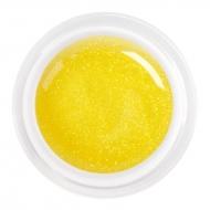цветной гель glitter yellow nr.84