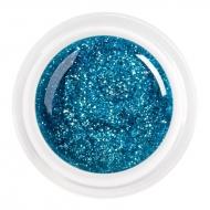 цветной гель glitter turquoise nr.85