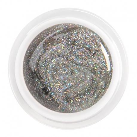 värviline geel glitter silver fine grain nr.87