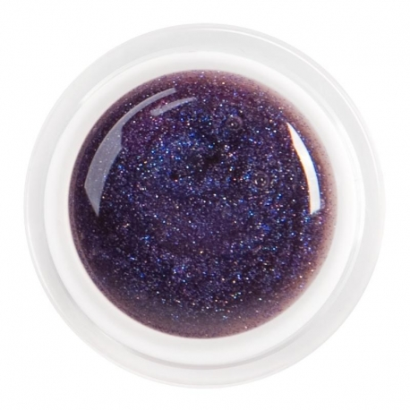 цветной гель glitter dark violet nr.90
