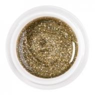 цветной гель glitter gold-silver nr.91