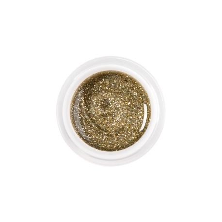 värviline geel glitter gold-silver nr.91