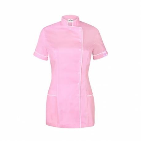 Туника светло-розовая с белым кантом